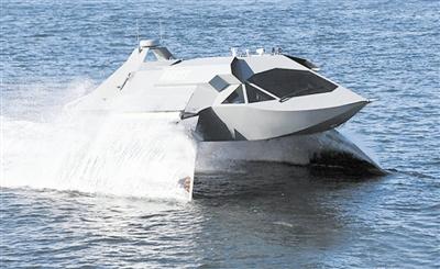 超空泡兵器:自己造路水下行
