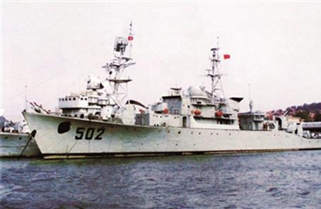 人民海軍護衛艦的早期探索