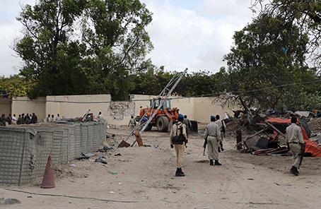 索馬裏首都汽車炸彈襲擊致1死7傷