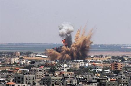 以色列轟炸加沙地帶哈馬斯多個軍事目標