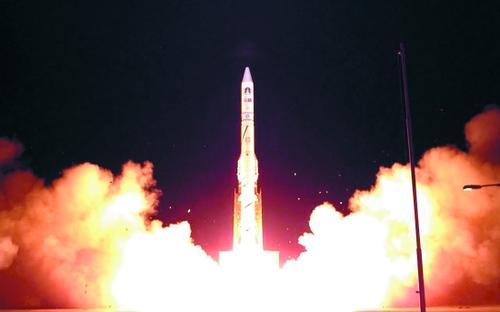 以色列成功發射一顆新一代偵察衛星